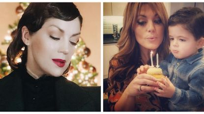 SHOWBITS. Kelly Pfaff viert haar huwelijksverjaardag in stijl en zoontje Belle Perez blaast 2 kaarsjes uit