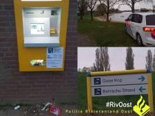 Vier buitenlanders na wilde achtervolging opgepakt voor leegroven parkeerautomaten in Giesbeek