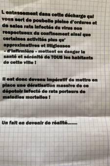 Une infirmière de Dampremy copieusement insultée dans une lettre anonyme