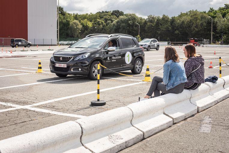 terugkeermoment voor chauffeurs aan Flanders Expo