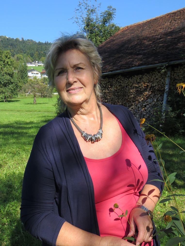 Carla, de vrouw met wie Sigfried Fink de laatste vijfentwintig jaar van zijn leven spendeerde. Beeld Anneke Stoffelen