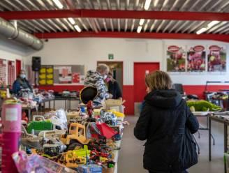Inzamelactie speelgoed voor kansarmen van SK Berlare en VZW Komdaf groot succes