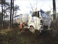 Urenlang oponthoud door berging vrachtwagen langs A28