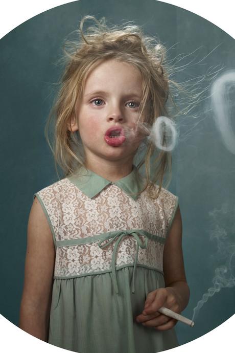 Rokende kinderen als Hollywoodsterren