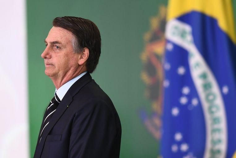Jair Bolsonaro legde gisteren de eed af als nieuwe president van Brazilië.