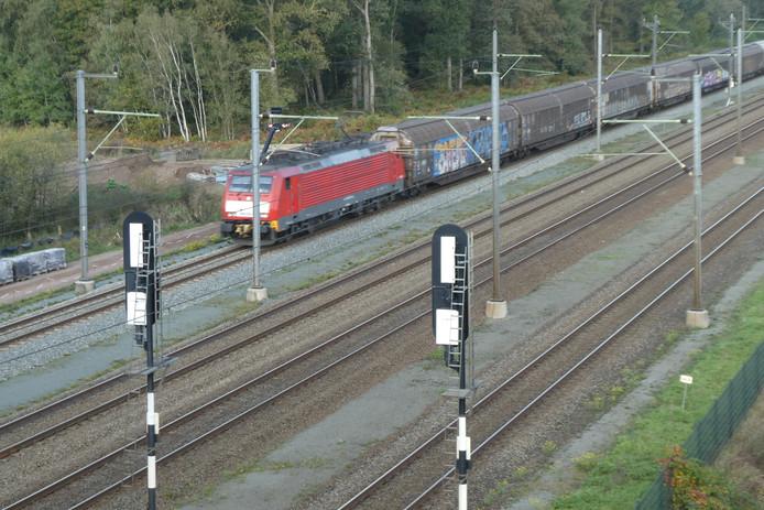 Treinen rijden niet bij Boxtel.