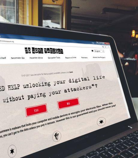 Site tegen gijzelsoftware hielp al 28.000 systemen ontsleutelen