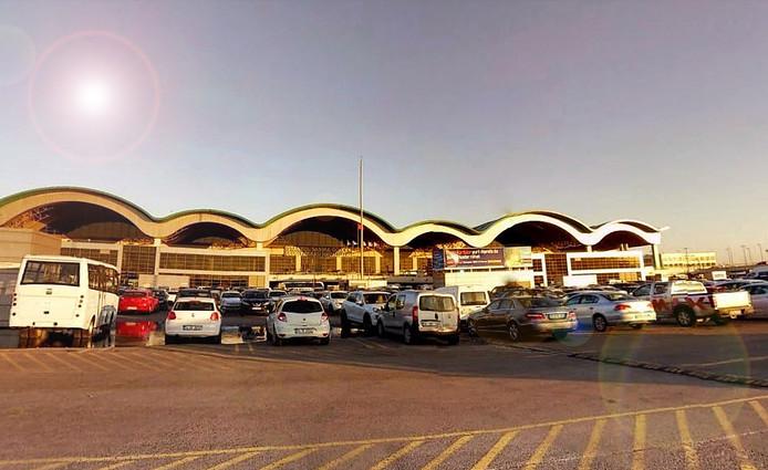 Het vliegveld Sabiha Gokcen, ten zuid-oosten van Istanboel.