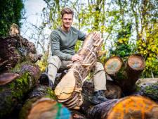 Wat maakt Martijn van omgekapte bomen? Borrelplankjes en doodskisten