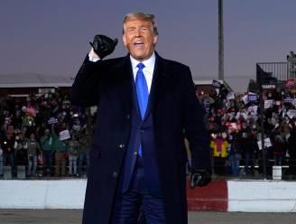 Campagnewebsite president Trump korte tijd gehackt