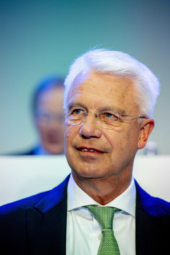 Bestuursvoorzitter Kees van Dijkhuizen van ABN AMRO.