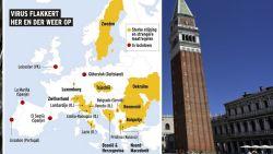 IN KAART. Op deze plekken in Europa flakkert het coronavirus weer op