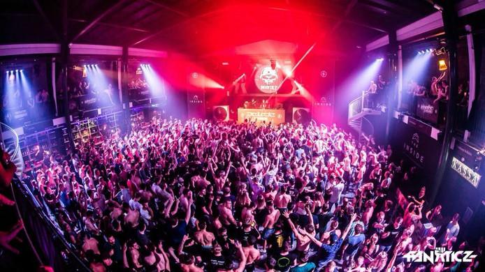 Hardstyle event rondom de Australische dj Delete in The Inside.