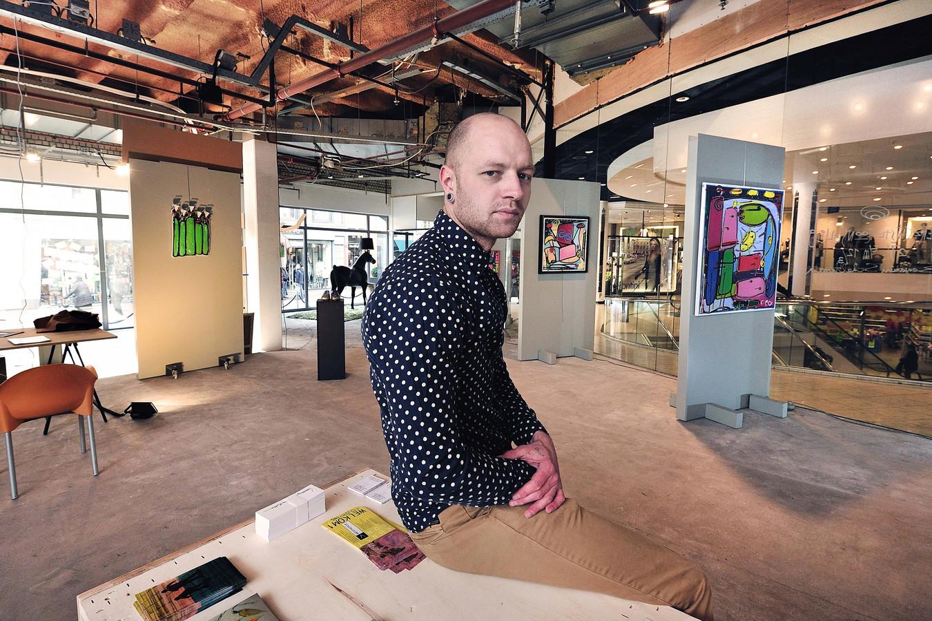 Kunstenaar Benjamin Scheltema is een van de genomineerden voor de cultuurprijs in Roosendaal.
