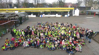 Dikketruiendag in basisschool De Klimop draait ook om fietsveiligheid