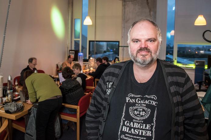 Dave Borghuis van Tkkrlab