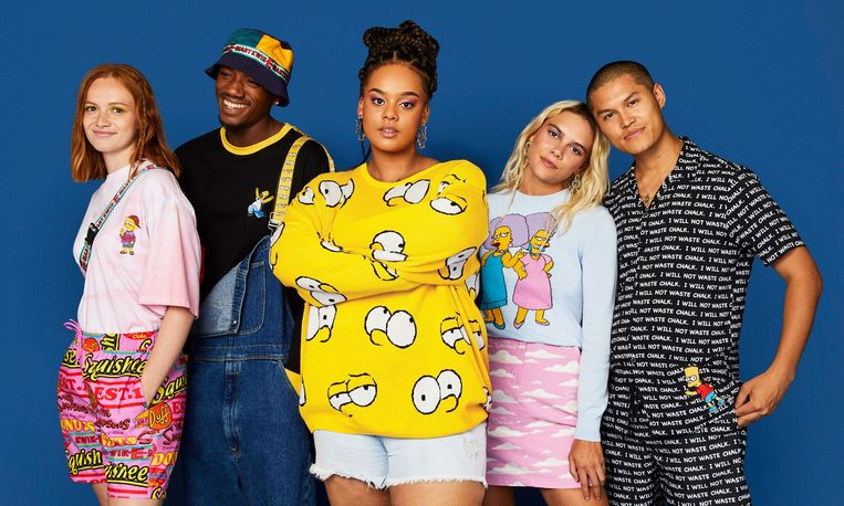 Asos x The Simpsons