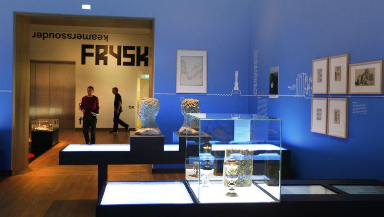 Een preview van het Fries museum. Beeld anp