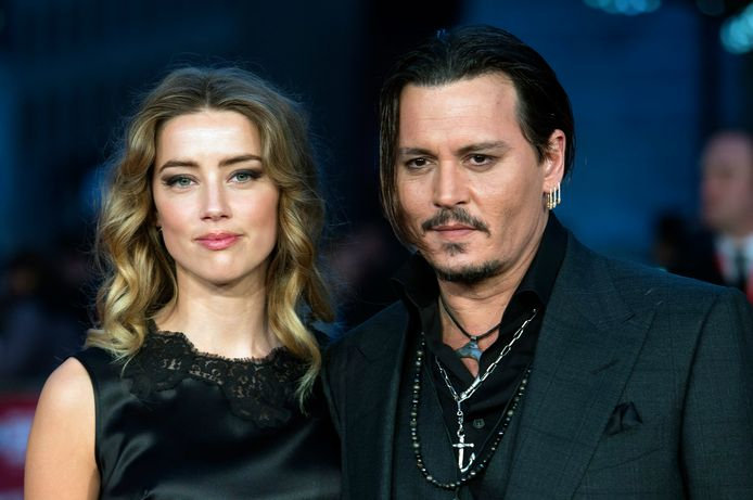 Amber Heard en Johnny Depp.
