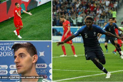 Die pijnlijke minuut 51, irritaties en kritiek van Courtois en Hazard: exact jaar geleden spatte Duivelse droom uiteen