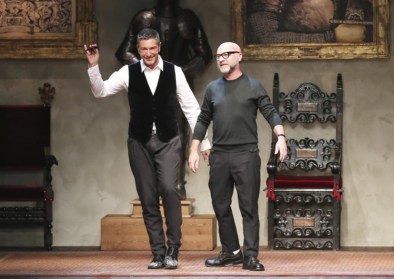 Domenico Dolce en Stefano Gabbana.