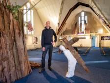 De tentoonstelling van Jacques Blommestijn is het laatste 'kunstje' van de Open Hof Kerk