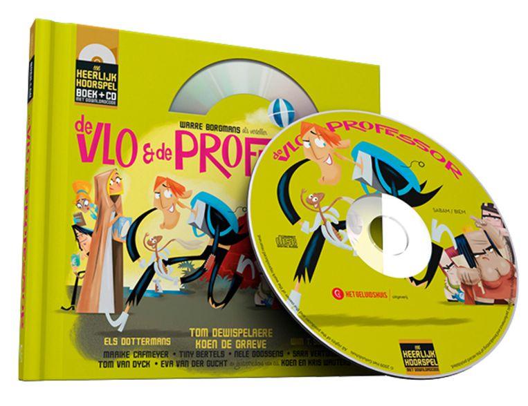 Hoorspel 2: De vlo & de professor Beeld Humo