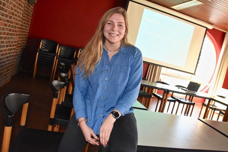 Jongeren in dialoog met schepencollege - Riet Parmentier