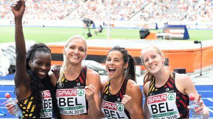 Claes loodst team naar finale 4x400m en zichzelf naar 4de plaats op horden