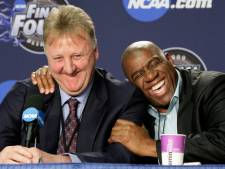 "Magic Johnson et Larry Bird distingués pour leur ""rivalité épique"""
