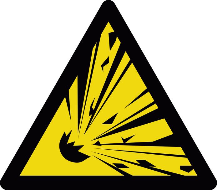 explosieven bord