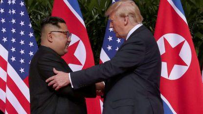 """Experts namen lichaamstaal Trump en Kim Jong-un onder de loep: """"Ze probeerden elk in hun eigen stijl dominantie te tonen"""""""