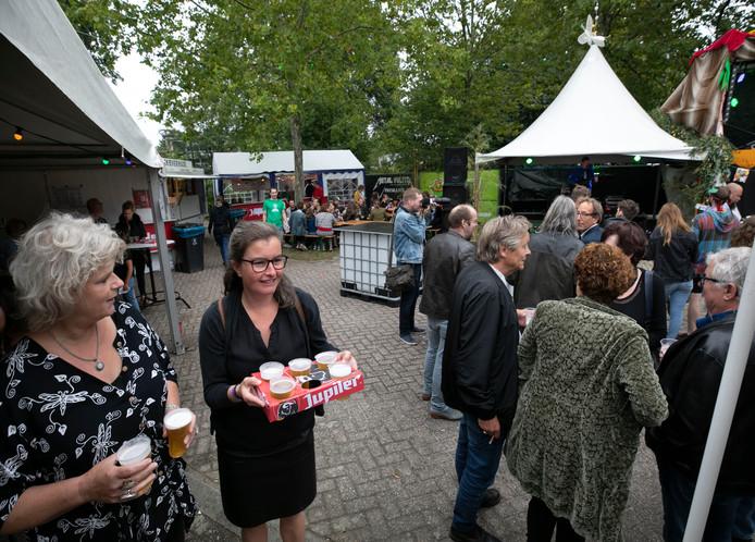 Zebrafestival in Gemert.
