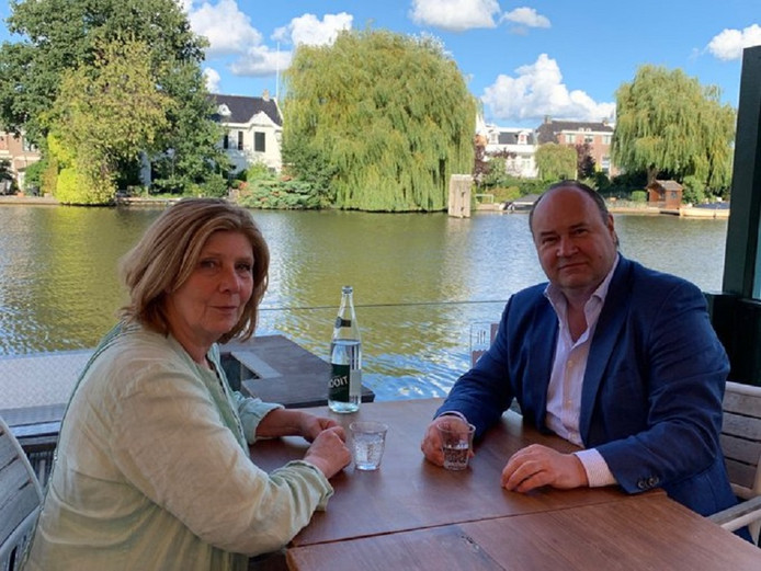 Caroline Persenaire en Henk Otten