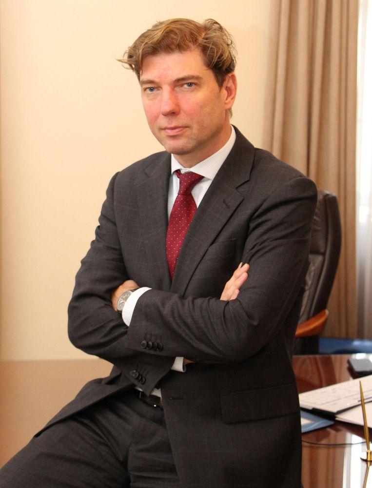 Burgemeester Jeroen Baert (N-VA).