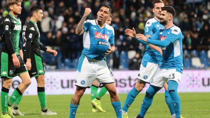 Eerste zege voor Napoli onder Gattuso, invaller Elmas beslist duel diep in extra tijd