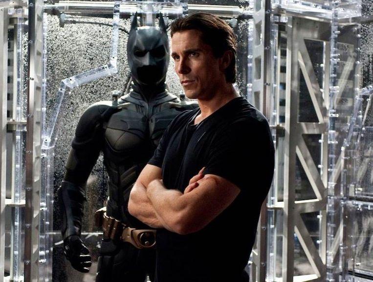 Christian Bale in 'Batman Begins'.