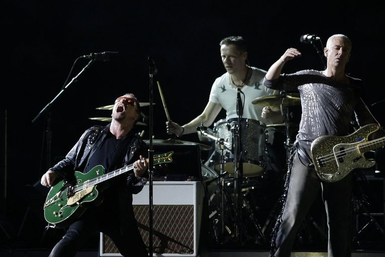 Optreden van U2 in de Amsterdam ArenA in2009. Beeld anp