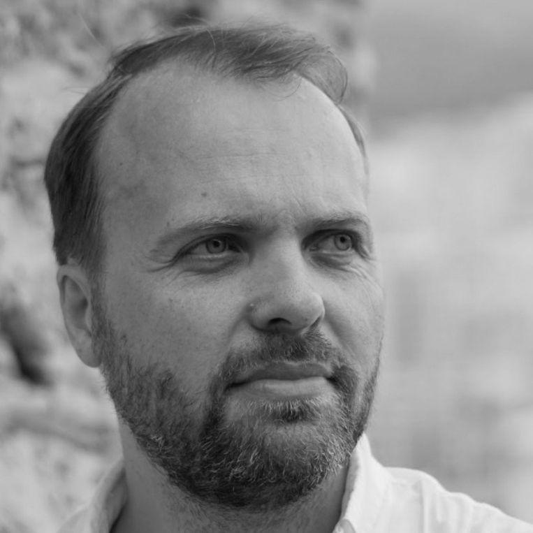 Onderzoeker Jurriaan Omlo (40). Beeld