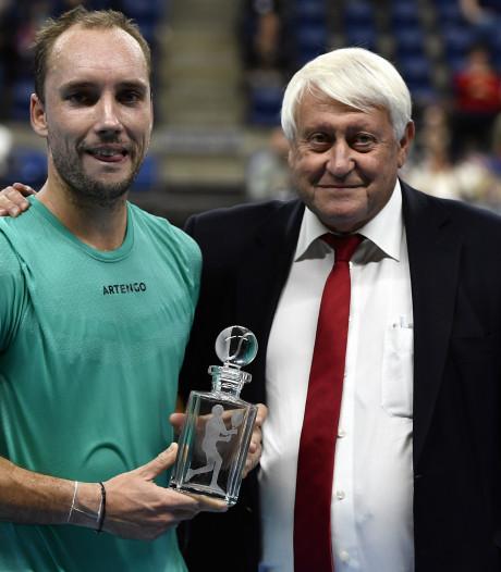 Éliminé d'entrée à Anvers, Steve Darcis a joué son dernier match belge