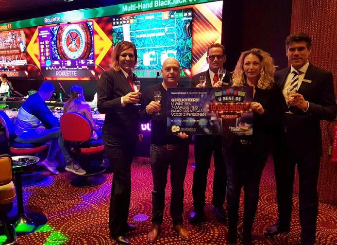 De winnares kan zich opmaken voor een reis naar Las Vegas.