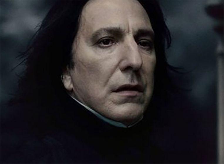 Rickmans bekendste personage is ongetwijfeld professor Snape.
