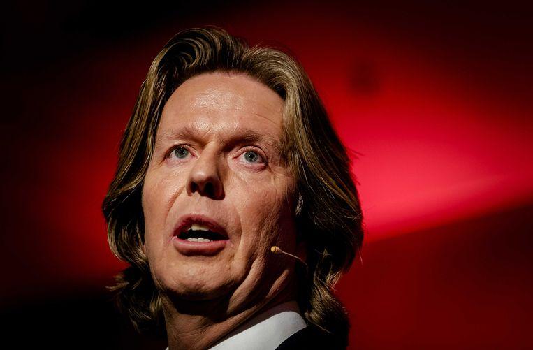 Feyenoord directeur Jan de Jong. Beeld ANP