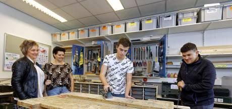 VSO-leerlingen lopen stage op beschutte werkplek