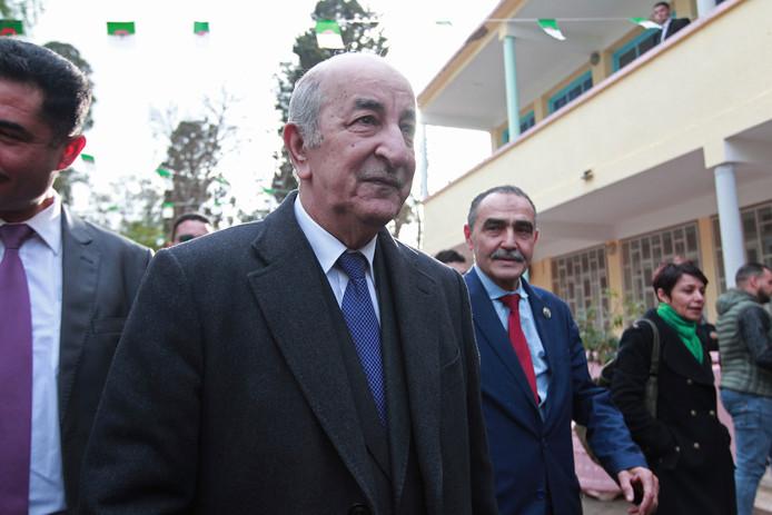 Abdelmadjid Tebboune est le nouveau président algérien.