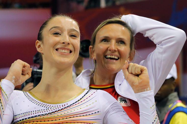 Nina Derwael en Marjorie Heuls