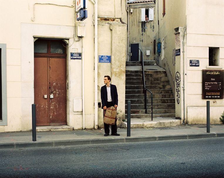 Georg in Marseille. Beeld