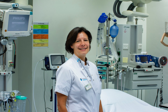 Wendy Thijssen, arts op de spoedeisende hulp Catharina Ziekenhuis.