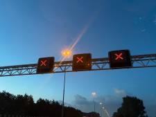 A58 korte tijd dicht richting Tilburg na ongeval bij Breda