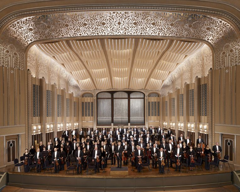 The Cleveland Orchestra. Beeld The Cleveland Orchestra